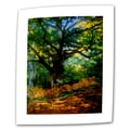 ArtWall in.Bodmer Oak at Fountainbleau Forestin. Flat/Rolled Canvas Arts By Claude Monet