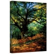 ArtWall in.Bodmer Oak at Fountainbleau Forestin. Gallery Wrapped Canvas Art By Claude Monet, 18in. x 24in.