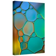 """ArtWall """"Connected II"""" Gallery Wrapped Canvas Arts By Cora Niele"""