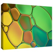 "ArtWall ""Stained Glass III"" Gallery Wrapped Canvas Art By Cora Niele, 24"" x 36"""