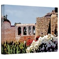 ArtWall in.Bells of Mission San Juan Capistranoin. Gallery Wrapped Canvas Arts By Linda Parker