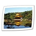 ArtWall in.Kyoto's Golden Pavilionin. Unwrapped Canvas Arts By Linda Parker