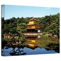 ArtWall in.Kyoto's Golden Pavilionin. Gallery Wrapped Canvas Arts By Linda Parker