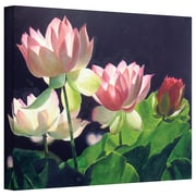 "ArtWall ""Andrea's Lilies"" Gallery Wrapped Canvas Arts By Marina Petro"