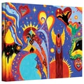 ArtWall in.Angel Firein. Gallery Wrapped Canvas Arts By Marina Petro