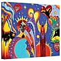 ArtWall Angel Fire Gallery Wrapped Canvas Art By