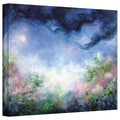 ArtWall in.Angel Moon Gardenin. Gallery Wrapped Canvas Arts By Marina Petro