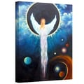 ArtWall in.Angel of the Eclipsein. Gallery Wrapped Canvas Arts By Marina Petro