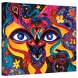 """ArtWall """"All Seeing"""" Gallery Wrapped Canvas Arts By Marina Petro"""