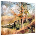 ArtWall in.Autumnin. Gallery Flat Wrapped Canvas Arts By Marina Petro