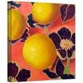 ArtWall in.Lemons on Persimmonin. Gallery Wrapped Canvas Arts By Marina Petro