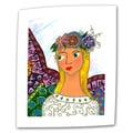 ArtWall in.Angel Ellenin. Unwrapped Canvas Arts By Debra Purcell