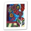 ArtWall in.Blue Birdin. Unwrapped Canvas Arts By Debra Purcell