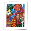 """ArtWall """"Downtown"""" Unwrapped Canvas Arts By Debra Purcell"""