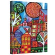 "ArtWall ""Downtown"" Gallery Wrapped Canvas Arts By Debra Purcell"