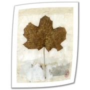 "ArtWall ""Golden Leaf"" Unwrapped Canvas Art By Elena Ray, 24"" x 18"""