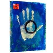 "ArtWall ""Health Hand Print"" Gallery Wrapped Canvas Art By Elena Ray, 48"" x 36"""