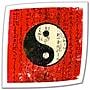 ArtWall Yin Yang Unwrapped Canvas Art By Elena
