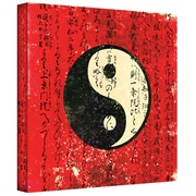 ArtWall Yin Yang Gallery Wrapped Canvas Art By Elena Ray, 36 x 36