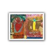 "ArtWall ""Art Journal Abundance"" Flat Unwrapped Canvas Art By Elena Ray, 24"" x 32"""