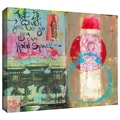 ArtWall in.Art Journal Let Goin. Gallery Wrapped Canvas Arts By Elena Ray