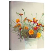 "ArtWall ""Flowers Classical Vase"" Gallery Wrapped Canvas Art By Elena Ray, 16"" x 24"""