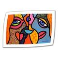 ArtWall in.Eye to Eyein. Unwrapped Canvas Arts By Steven Scott