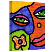 "ArtWall ""Shirley Whirley"" Gallery Wrapped Canvas Art By Steven Scott, 24"" x 18"""