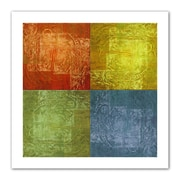 "ArtWall ""4 Lights"" Flat Unwrapped Canvas Arts By Greg Simanson"