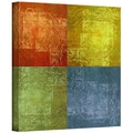 ArtWall in.4 Lightsin. Gallery Wrapped Canvas Arts By Greg Simanson