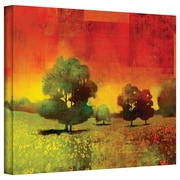 "ArtWall ""Drenched Grace"" Gallery Wrapped Canvas Arts By Greg Simanson"
