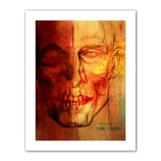 "ArtWall ""Facial Anatomy"" Flat Unwrapped Canvas Arts By Greg Simanson"