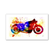 "ArtWall ""Moto III"" Flat Unwrapped Canvas Art By Greg Simanson, 12"" x 18"""