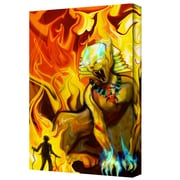 """ArtWall """"Pharo"""" Gallery Wrapped Canvas Art By Pyro Painter, 14"""" x 18"""""""