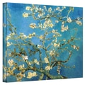ArtWall in.Almond Blossomin. Gallery Wrapped Canvas Arts By Vincent Van Gogh