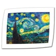 "ArtWall ""Starry Night"" Rolled Canvas Art By Vincent Van Gogh, 12"" x 16"""