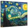 ArtWall in.Starry Nightin. Gallery Wrapped Canvas Art By Vincent Van Gogh, 18in. x 24in.