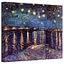 ArtWall Starry Night Over Rolled Canvas Art By