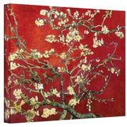 "ArtWall ""Branches of an Almond Tree..."" Gallery Wrapped Canvas Art By Vincent Van Gogh, 20"" x 24"""