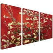 ArtWall in.Interpretation in Red...in. Gallery Wrapped Canvas Art By Vincent Van Gogh, 24in. x 36in.