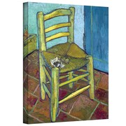 "ArtWall ""Vincent's Chair"" Gallery Wrapped Canvas Art By Vincent Van Gogh, 18"" x 24"""