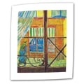 ArtWall in.Pork-Butchers Shop Through...in. Flat/Rolled Canvas Arts By Vincent Van Gogh