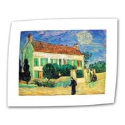 ArtWall The White House at Night Flat/Rolled Canvas Art By Vincent Van Gogh, 24 x 32