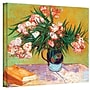 ArtWall Oleanders Gallery Wrapped Canvas Art By Vincent
