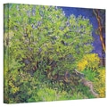 ArtWall in.Lilacsin. Gallery Wrapped Canvas Arts By Vincent Van Gogh