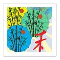 ArtWall in.Parasol Paradein. Flat Unwrapped Canvas Arts By Jan Weiss