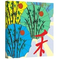 ArtWall in.Parasol Paradein. Gallery Wrapped Canvas Arts By Jan Weiss