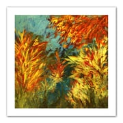 ArtWall Quiet Lake I Flat Unwrapped Canvas Art By Jan Weiss, 36 x 36
