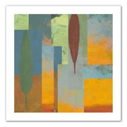 "ArtWall ""Tuscany Square I"" Flat Unwrapped Canvas Art By Jan Weiss, 18"" x 18"""