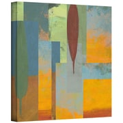 "ArtWall ""Tuscany Square I"" Gallery Wrapped Canvas Art By Jan Weiss, 14"" x 14"""